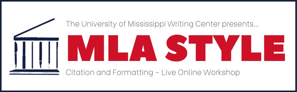 mla citation and formatting workshop